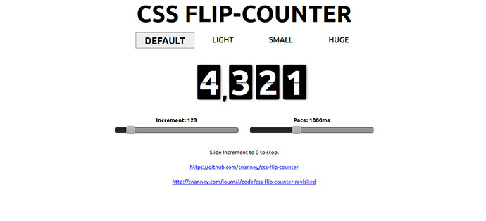 CSS Flip-Counter Revisited