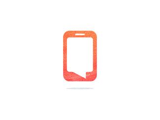 Speech Bubble Phone