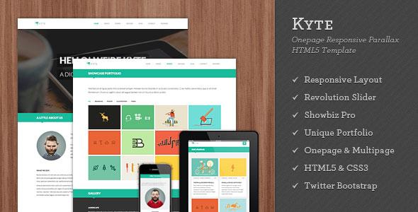 70 Flat Responsive Html Website Templates Bashooka