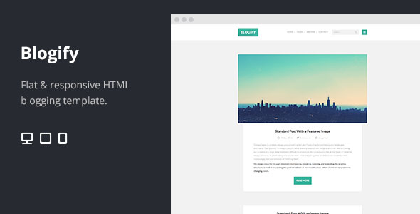 70 flat responsive html website templates web graphic design blogify maxwellsz