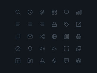 Icons Preview