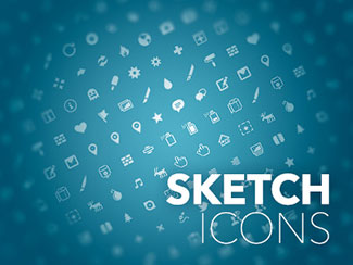 Sketch icon set by Pausrr