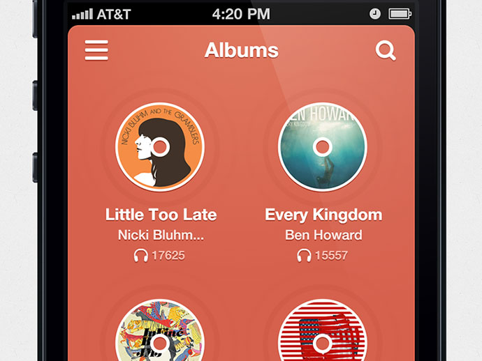 41 Music App UI Design Concepts For IOS | Web & Graphic Design ...