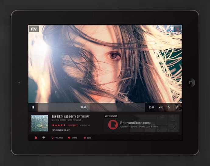 41 Music App UI Design Concepts For IOS – Bashooka