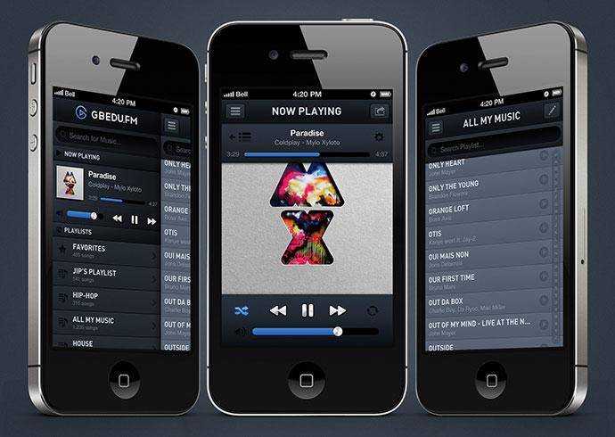 iOS Music player