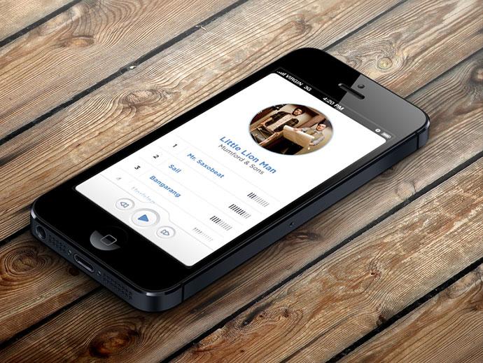 Music app v2