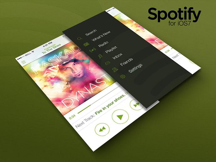Spotify iOS7 @2x