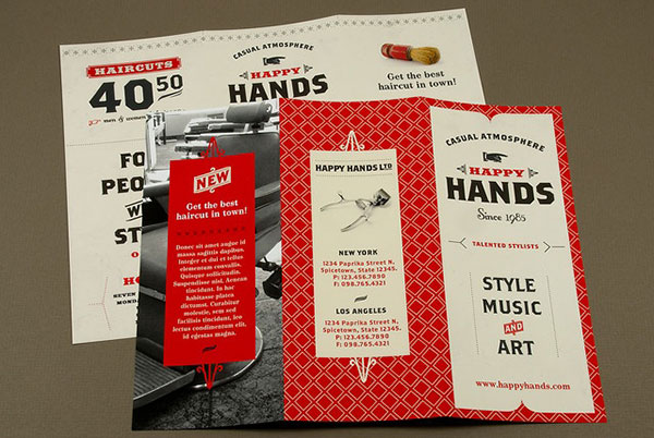 Awesome Retro Vintage Style Brochure Designs  Web  Graphic