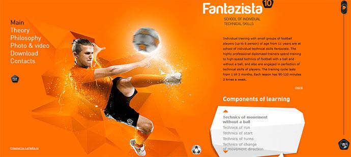23 modern sport web designs inspiration