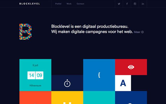 Blocklevel by http://www.matiasjansen.com