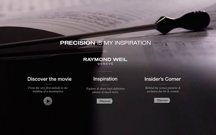 Precision is my Inspiration by http://www.raymond-weil.com