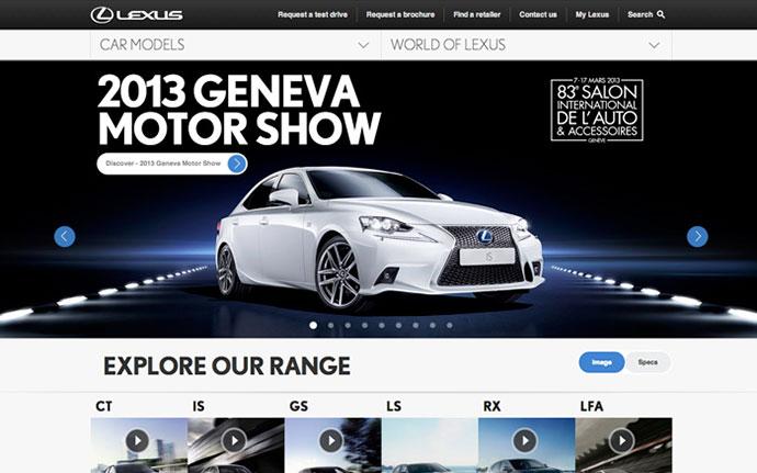 Lexus Europe by http://www.amaze.com