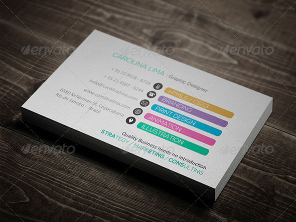 56 Visually Stunning Psd Business Card Templates Web Graphic