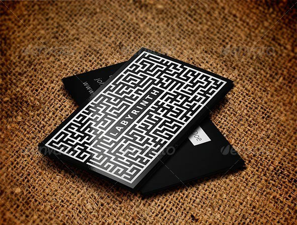 Labyrinth Business Card