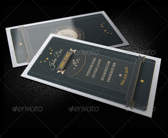 56 visually stunning psd business card templates web graphic creative retro business card reheart Gallery