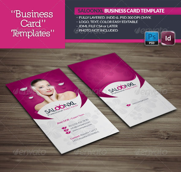 56 visually stunning psd business card templates web graphic saloon business card template reheart Image collections