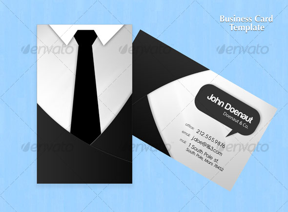 Shirt N Tie Business Card
