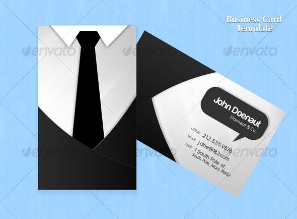 Shirt N Tie Business Card