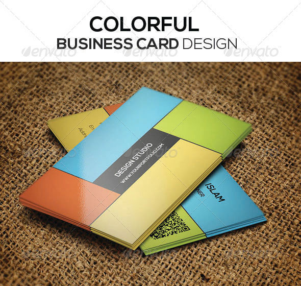 56 Visually Stunning PSD Business Card Templates