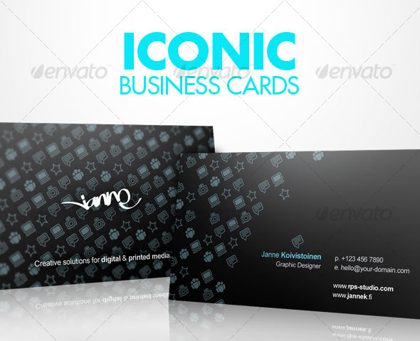 Iconic Business Cards
