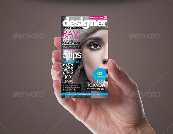 Magazine Style Business Card