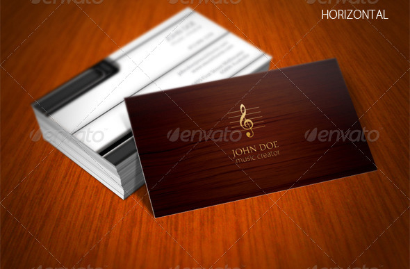 56 visually stunning psd business card templates web graphic 3 piano business card colourmoves