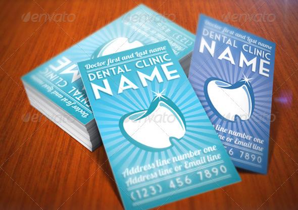 Elegant Dentist Business Card