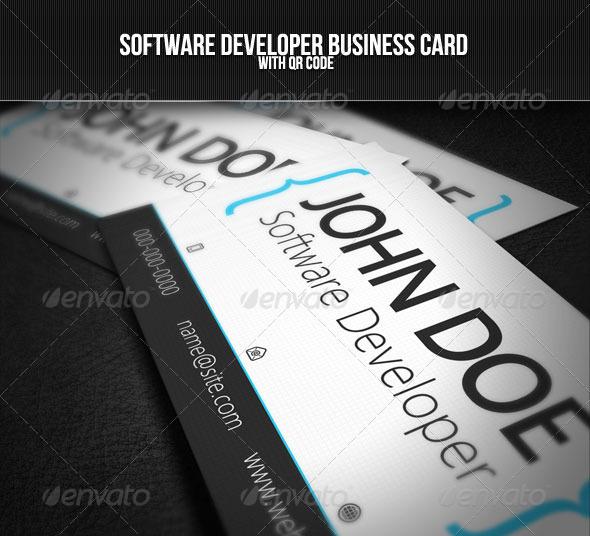 Danh thiếp nhà phát triển phần mềm