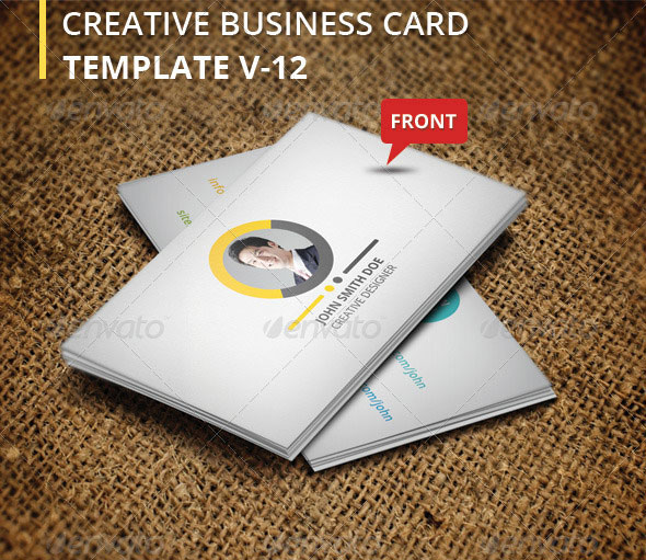 Creative Business Card V-12
