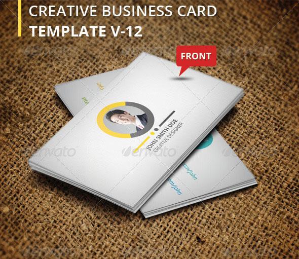 Creative Business Card V-12