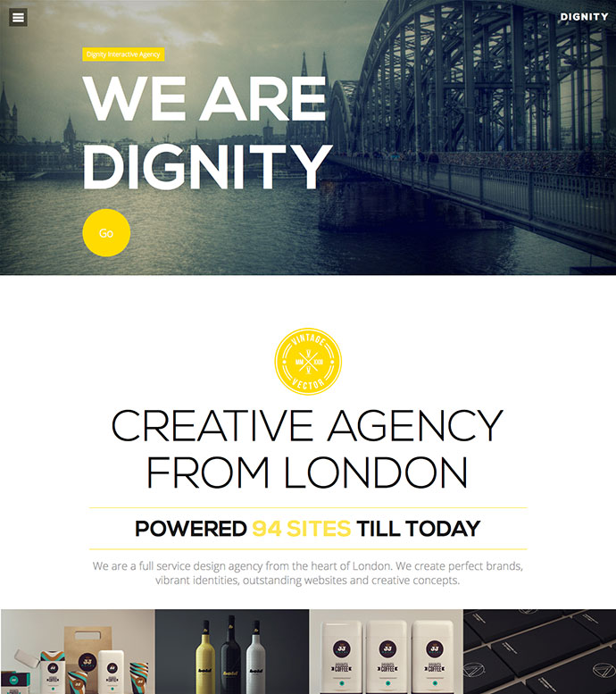 Responsive Bootstrap HTML Website Templates Web Graphic - Graphic design website templates