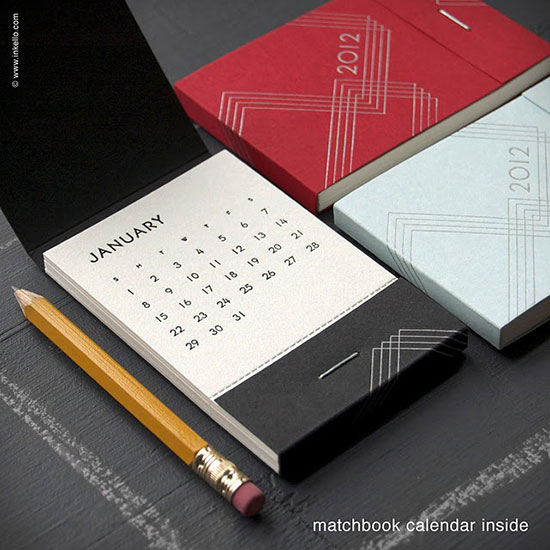 Matchbook calendar
