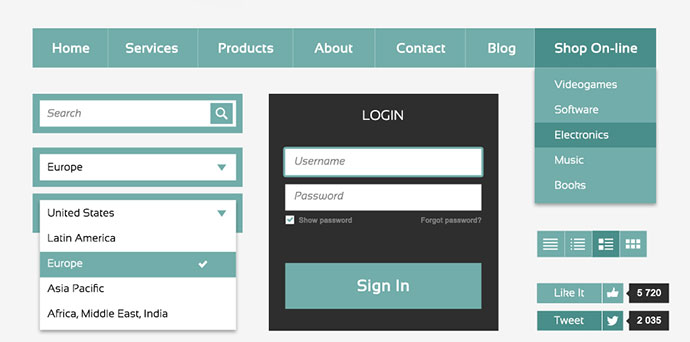 Metrosyle Web UI