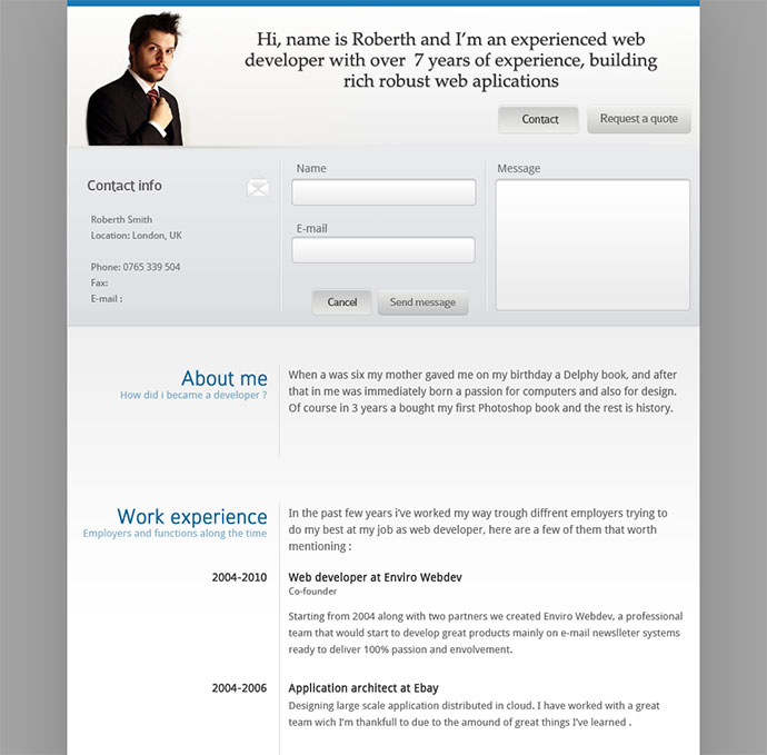 fonda - Professional It Resume