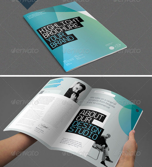30 high quality indesign brochure templates web for Graphic design brochure templates