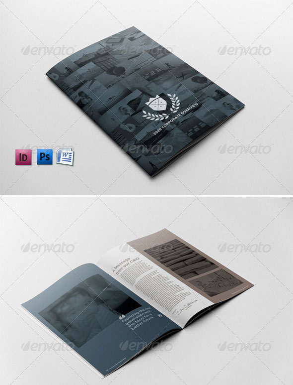 High Quality Indesign Brochure Templates  Web  Graphic Design
