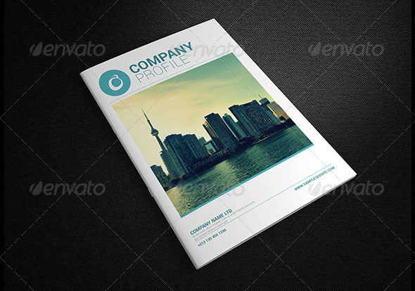 30 High Quality InDesign Brochure Templates – Templates for Company Profile
