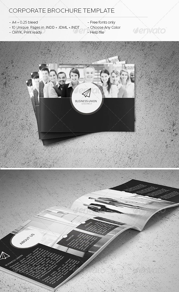 Corporate Brochure Template 2