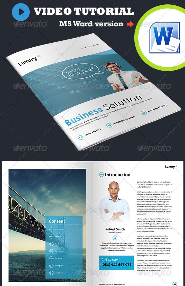 Corporate Business Brochure - Luxury