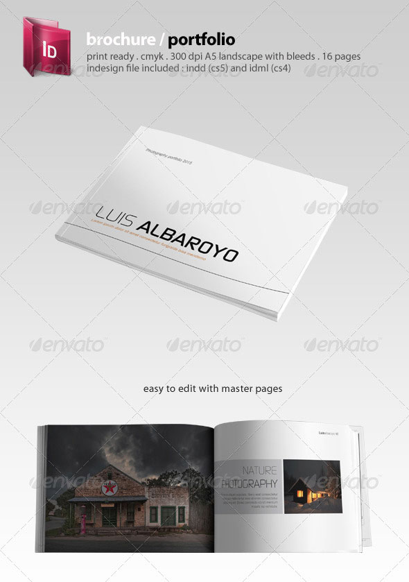 portfolio brochure template - 30 high quality indesign brochure templates web