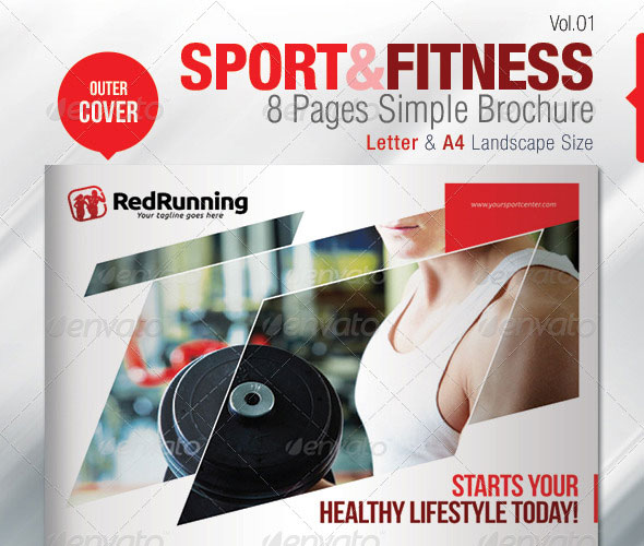 Fitness Brochure Template Fitness Brochure Template Free Fitness