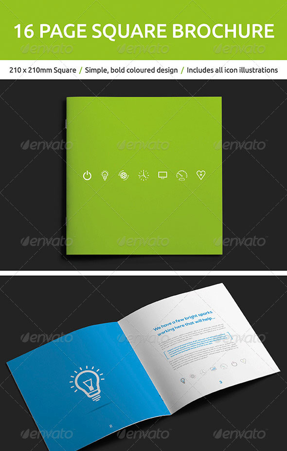 High Quality InDesign Brochure Templates Web Graphic Design - Simple brochure templates