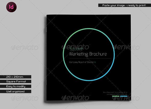 Black Company Brochure // Square Format
