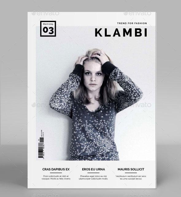 High Fashion Magazine Layout Images