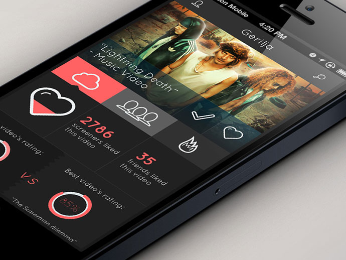 screen by marcel henkhaus - App Design Ideas