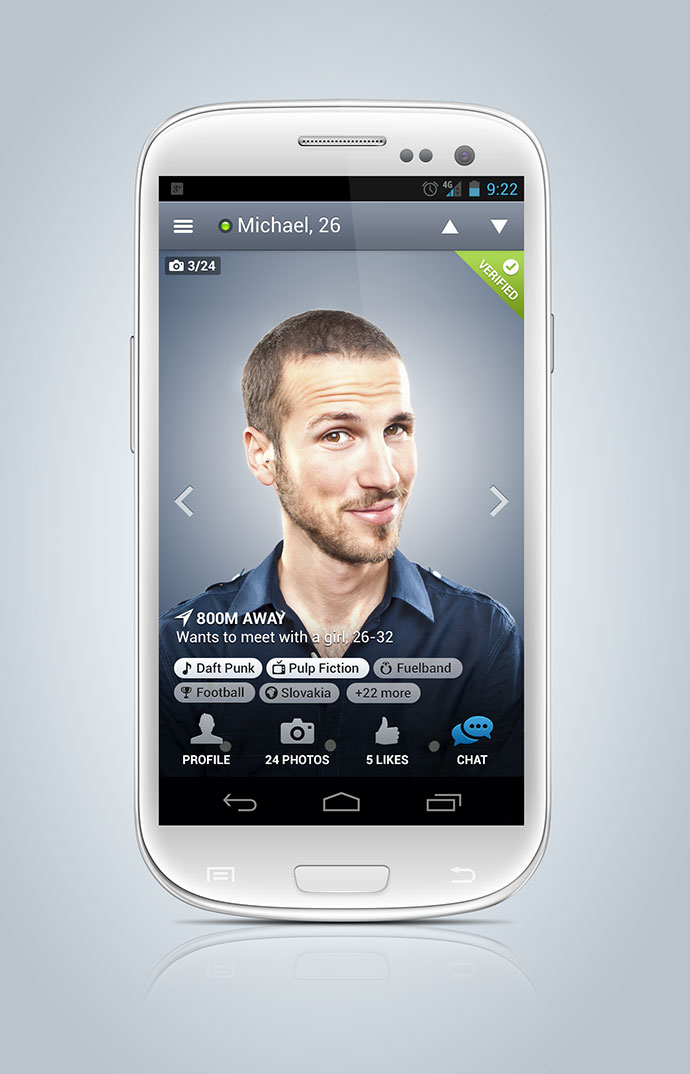 new Badoo app for Android By Michal Vasko
