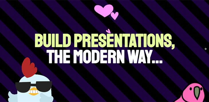 16+ Tools & Frameworks For Making Presentation With HTML