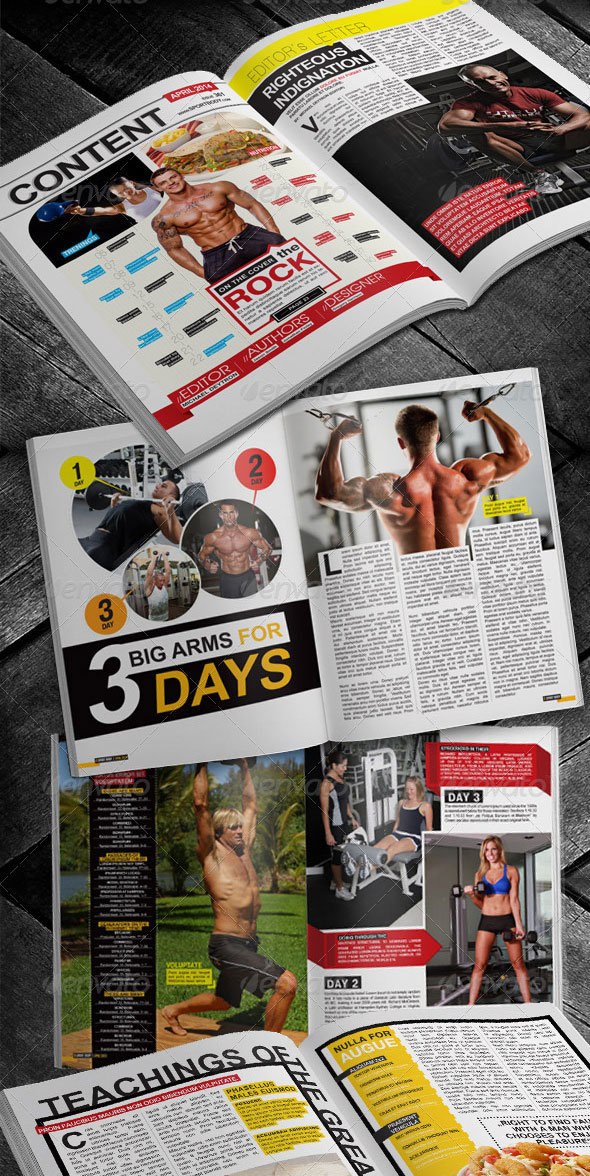 Fitness Body Magazine