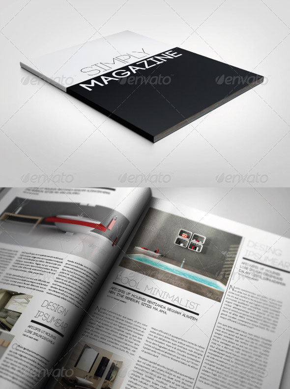Multipurpose Simply Magazine