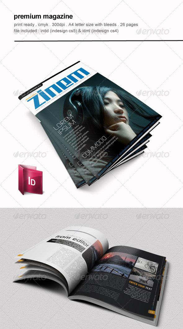 Premium Magazine Template